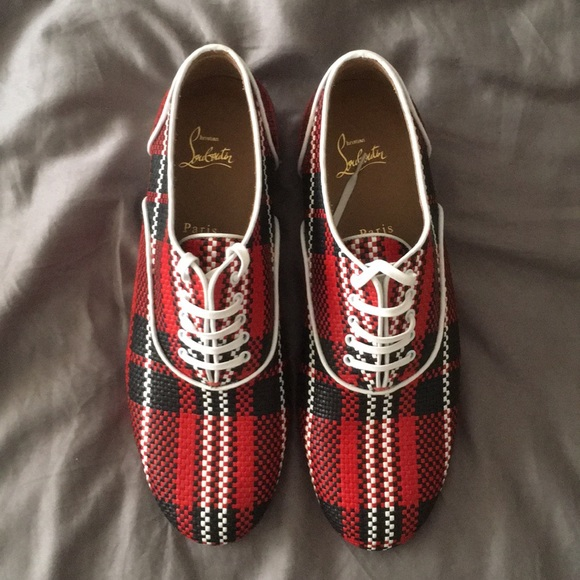 6b59edc1666a8 Christian Louboutin Shoes | Alfred Flat Red | Poshmark